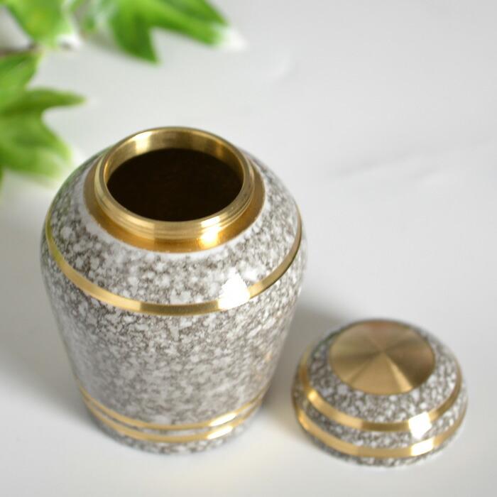 mini-funerary urn natural stone