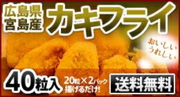 広島県宮崎産カキフライ