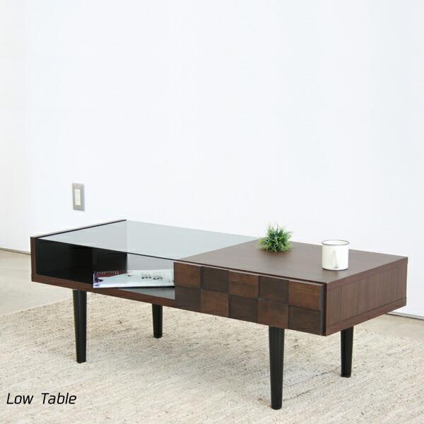 100 リビングテーブル 完成品 おしゃれ シンプル モダン 木製 収納