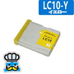 Brother ブラザー LC10-Y イエロー 単品 互換インクカートリッジ