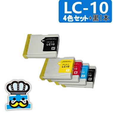 プリンターインク brother ブラザー LC104色セット+黒 対応プリンタ: MFC-880CDWN MFC-880CDN MFC-870CDWN MFC-870CDN MFC-860CDN MFC-650CDW MFC-650CD MFC-630CDW MFC-630CD MFC-480CN MFC-460CN DCP-350C DCP-155C MFC-850CDWN MFC-850CDN DCP-750CN DCP-330C