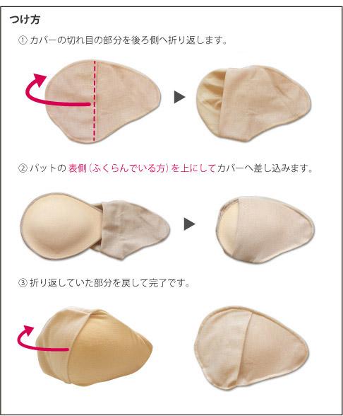 【乳がん用】パットカバー