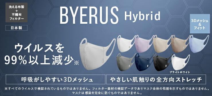 BYERUS Hybrid 高性能抗ウイルスマスク
