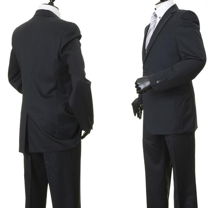 コムサメン COMME CA MEN スーツ ストライプスーツ