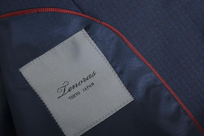 ティノラス スーツ スリーピース TENORAS 紺(青みがかった紺) te5506 メンズ 紳士