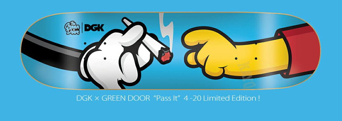 DGK×GREEN DOOR 420 Collection!