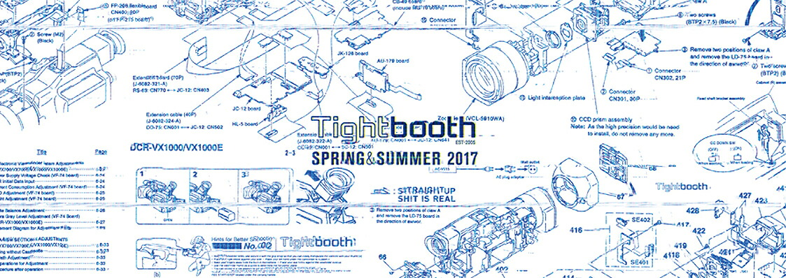 TIGHTBOOTH 17 SPRING