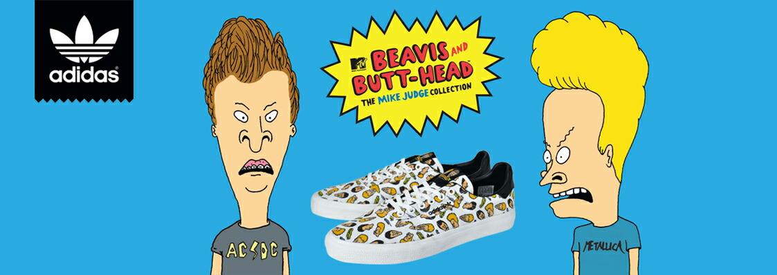 adidas skatebording×Beavis