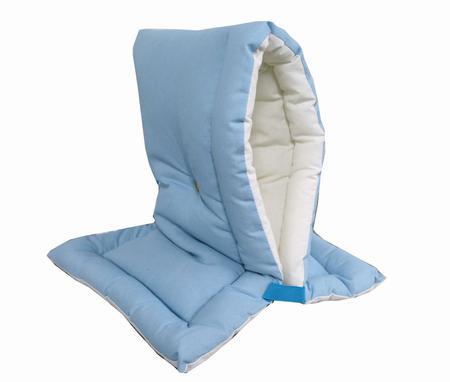 防災頭巾 ブルー