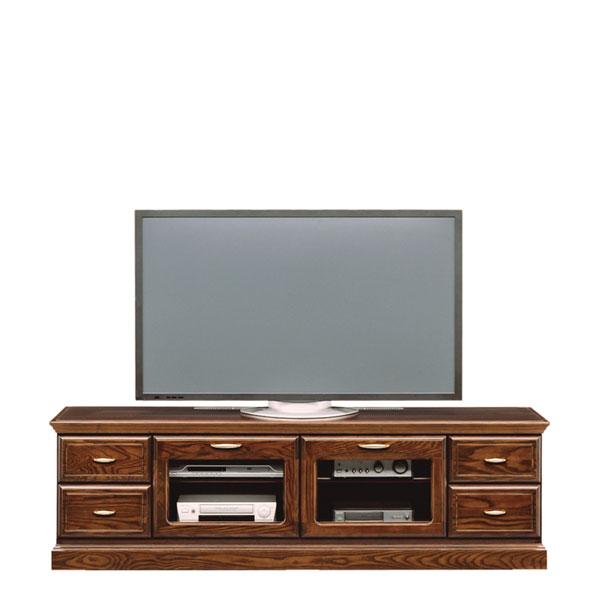 テレビ台 TV台 幅180 TVボード テレビボード ロータイプ 高級家具 完成品 アンティーク リビングボード 送料無料