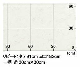 東リクッションフロアCF6905のサイズイメージ