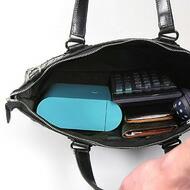 小さいバッグで持ち運ぶ