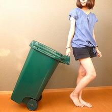 分別ゴミ箱 トラッシュカン 90L 大容量