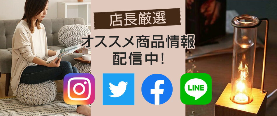 SNS紹介ページ