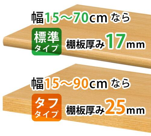 幅は15~90cmまで1cm単位で指定できる
