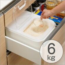 米びつ 気くばり米びつ 6kg用