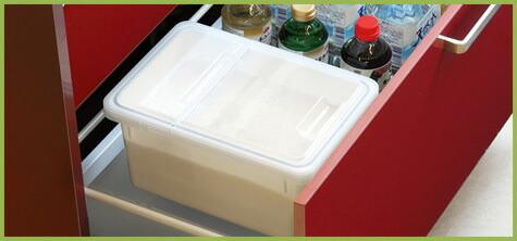 2.密封性の高い容器に保管する