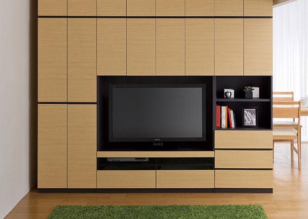 テレビ台ユニット 壁面収納 ポルターレ 幅120cm