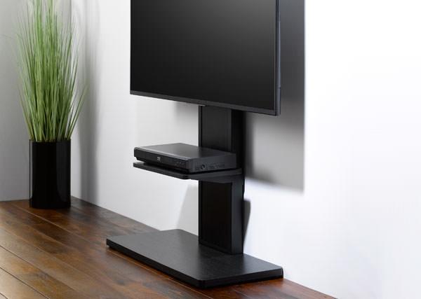 テレビ台 壁寄せ 壁面 テレビスタンド 55V型対応 ベース幅80cm