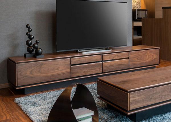 テレビ台 ローボード ウォールナット材 シンプルデザイン TALLO 幅240cm