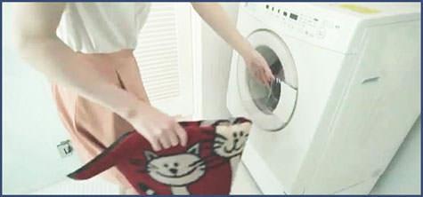 洗濯機で水洗いOK