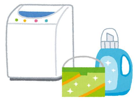部屋干し用洗剤など、洗浄力のしっかりした洗剤を使う