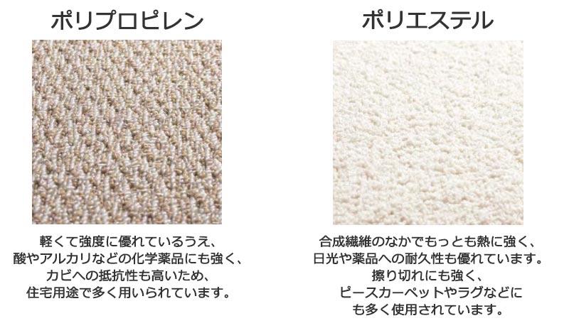 カーペットと椅子の色をあわせて