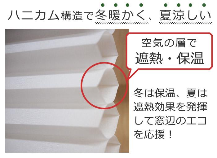 ハニカム構造 空気層 遮熱効果 断熱 保温効果 省エネ
