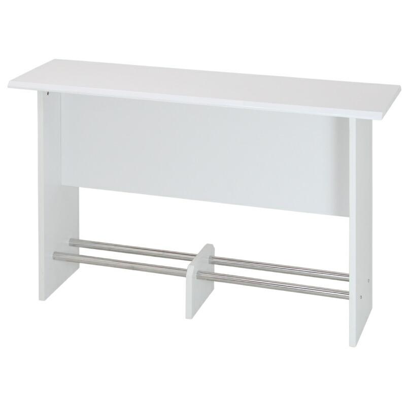 鏡面木製カウンターテーブル