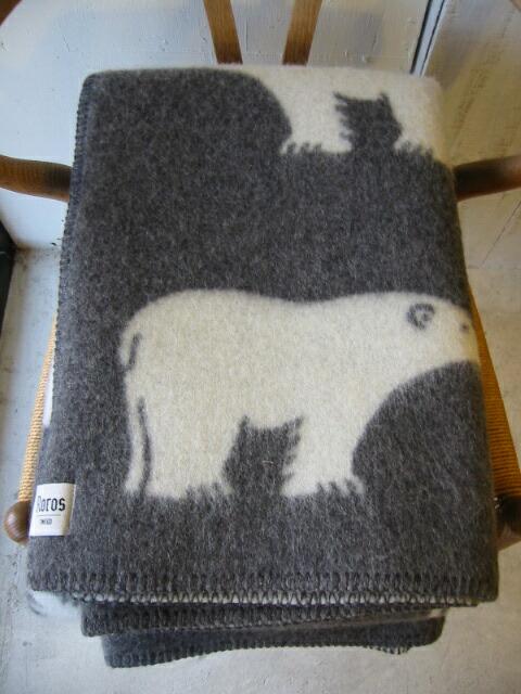 roros tweed isbjorn grey 130 200cm. Black Bedroom Furniture Sets. Home Design Ideas