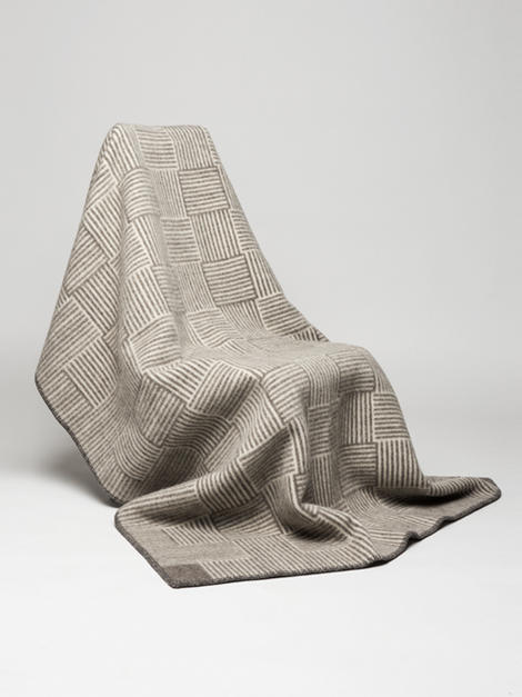 roros tweed naturpledd veve 130 200cm. Black Bedroom Furniture Sets. Home Design Ideas