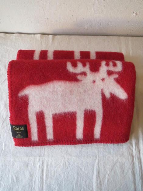 roros tweed elg mini red natural 65 85cm. Black Bedroom Furniture Sets. Home Design Ideas