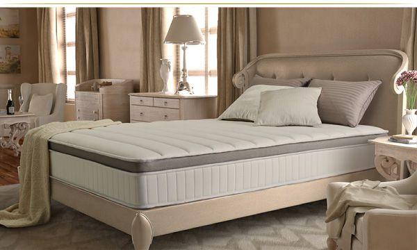 本気で寝心地と品質にこだわったホテルスタイルの2層ポケットコイルマットレス