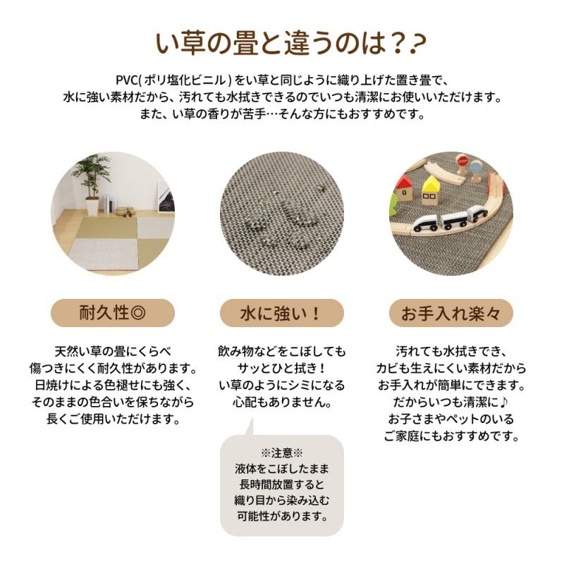 PVC置き畳の機能説明