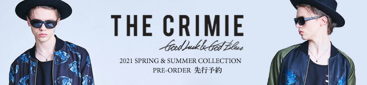 CRIMIE(クライミー) 2021 SPRING & SUMMER COLLECTION先行予約
