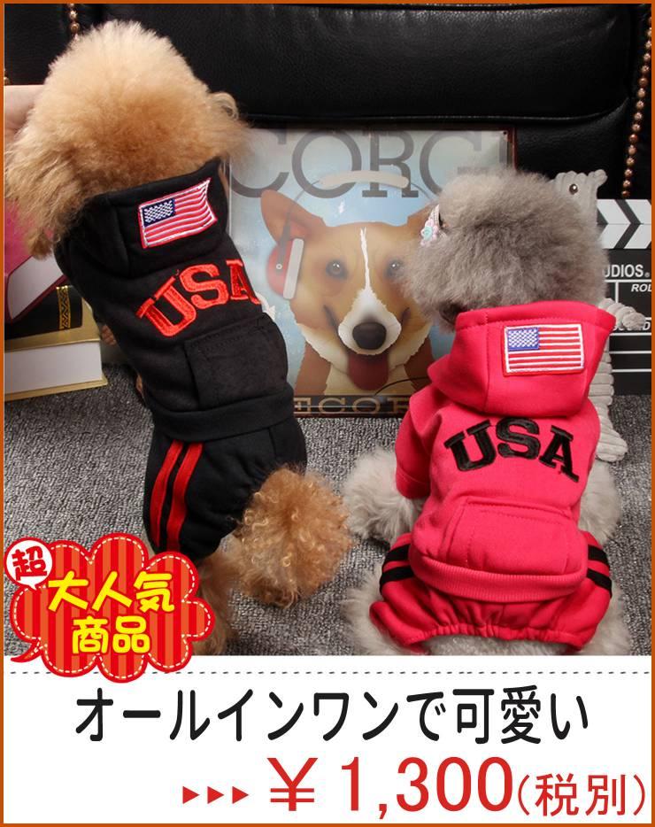 USA刺繍