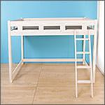 パイン材木製ロフトベッド
