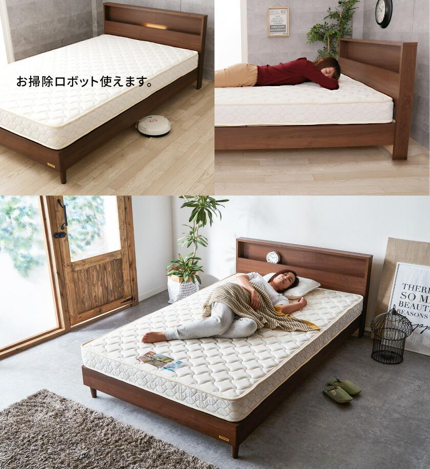 フランスベッド すのこベッド マットレス付き