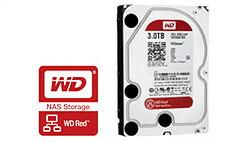 NAS用ハードディスク「Red」