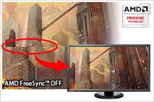 AMD FreeSync テクノロジー搭載!