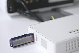 USB接続ストレージへデータコピーができる!