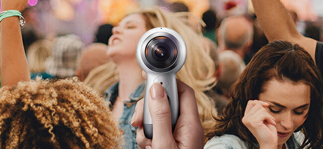 今感じている世界をそのまま残す360度カメラ