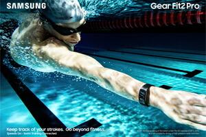 水泳もできる5ATM(50m気圧)防水