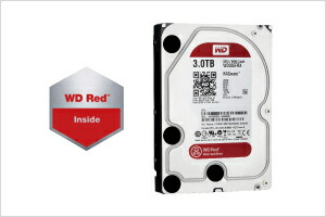 NAS用ハードディスク「WD Red」ロゴ