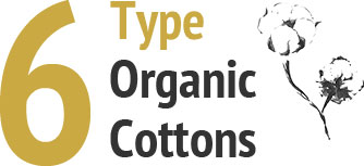 6 Type Organic Cotton
