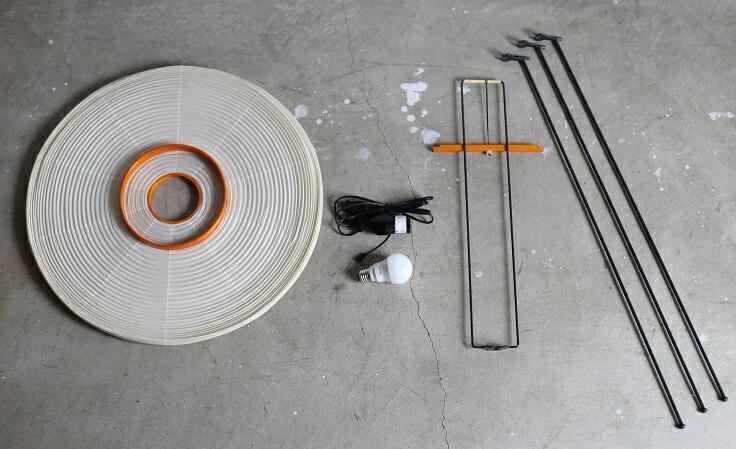 イサムノグチ AKARI 付属品 箱サイズ68.5×66×13