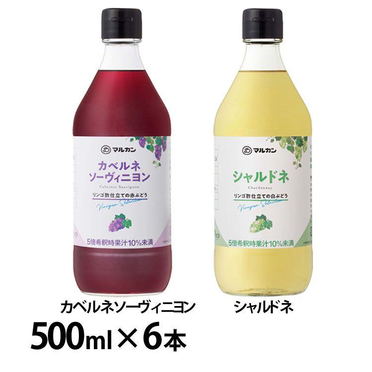 【6本セット】リンゴ酢仕立て 全2種
