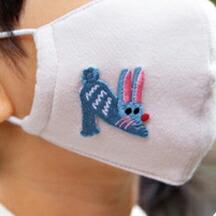 アニマル刺繍