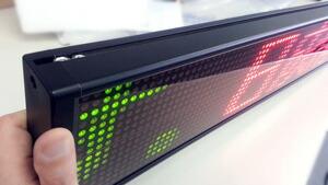 安価激安便利led電光板 外国語表示