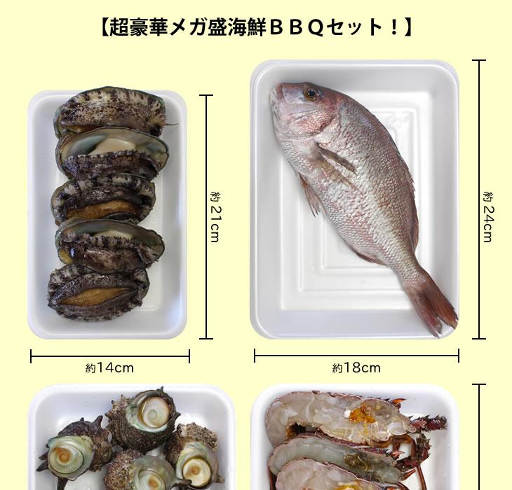 超豪華メガ盛海鮮BBQセット!